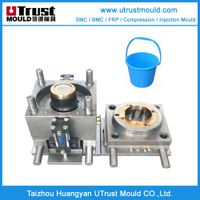 Household products plastic injection molds buckets moulding thumbnail image