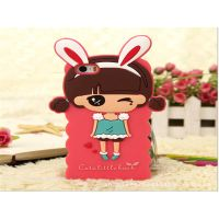 3D cartoon custom silicone mobile phone case cell phone cover