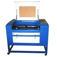 Co2 laser cutting machine 60W HT-460 for fabric with CE/FDA thumbnail image