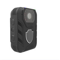 1080p Waterproof Police Body Camera with 2-inch Display, Night Vision, Built-in 64GB Memory and GPS