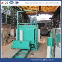 Large loading capacity car type electric heating industrial annealing furnace