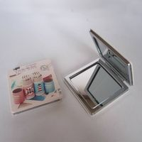square Compact pocket mirror  with pu leather for  promotional gift thumbnail image