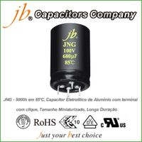 JNG - 5000H at 85°C, Snap in Aluminum Electrolytic Capacitor, Miniaturized Size, Long Life