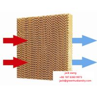 Honeycomb Evaporative Cooling Pad /Wet Curtain for Poultry Farm thumbnail image