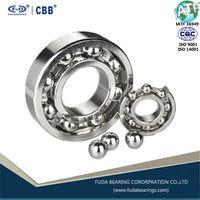 Deep groove ball bearing 6000 - 6014 Open ZZ 2RS