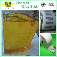 Hot melt pressure sensitive adhesive for Label