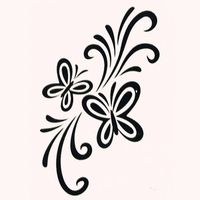 Men And Women 1 Lot Sexy Chest Water Transfer Tattoo Decals Waterproof Temporary Tattoo Stickers Let