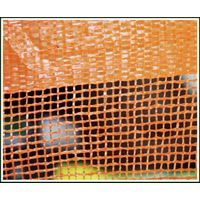 Orange woven Safety Fence