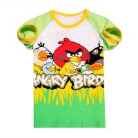 wholesale summer short sleeve boysT-shirt children's cartoon 100% catoon