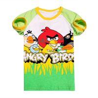 wholesale summer short sleeve boysT-shirt children's cartoon 100% catoon