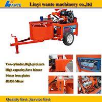 WT1-20M clay interlocking block machine
