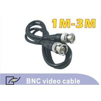 BNC male connector video cable