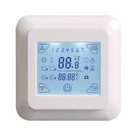 V8 digital floor heating thermostat for programmable room temperature central control with CE RoHS