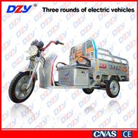 Humanized design passengers and cargo motor tricycle