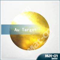 high purity 99.99 Gold sputtering target Au thumbnail image