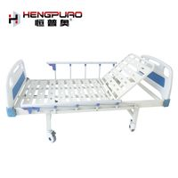 handicapped equipment back reclining manual hospital beds for sale