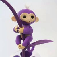 New Products Hot Selling Cute Interesting Finger Toy Interactive Fingerling Baby Monkey as Children