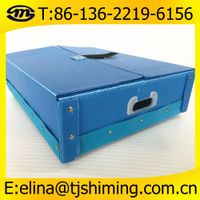 PP Plastic Container,Folding Corrugated Plastic Reusable Box,PP Corrugated Plastic Stackable Boxes/C