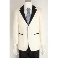 Custom made Mens Suits Formal Dress Men Suit Set men white wedding suits thumbnail image