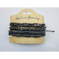 Leather Bangles Bracelets Rope Chain Men Jewelry Handmade Leather Bracelet Designs
