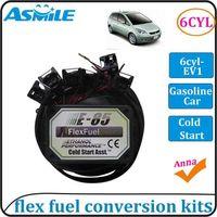 E85 kit 6cyl EV1 with Cold Start Asst. biofuel e85, ethanol car, bioethanol converter, bioethanol