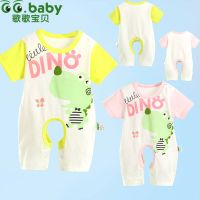 Short Sleeve Baby Summer Clothing Creepers Unisex Baby Romper Clothes 0-24M Cotton