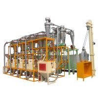 30mt per day wheat flour grinding machinery