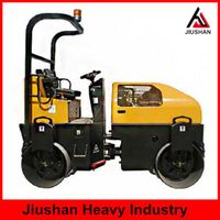 JS-YL-9002T Seat type double drum road roller