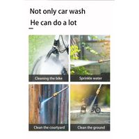 Car wash gun high pressure car wash gun cordless car washer thumbnail image
