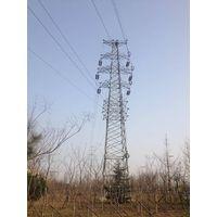 tubular power transmission tower