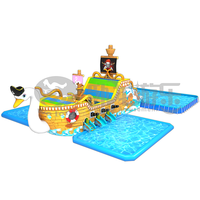 Crazy water games high return rate commercial inflatable water park