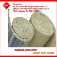 Soundproof rock wool roll/rock wool felt/rock wool blanket thermal insulation thumbnail image