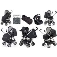 hauck Eagle Soft Trio Set Travel System