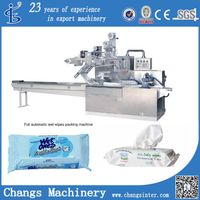 DWB series auto sachet baby wet wipes packaging machine manufacturers price thumbnail image
