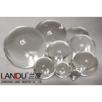 High quality transparent different size acrylic round balls thumbnail image