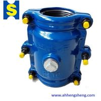 Pipe clamp for socket section