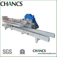 wood log sliding table saw