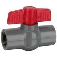 ''HJ'' brand PVC Compact Thread Ball Valves With Good Quality