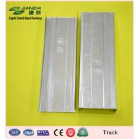 European standard 7522mm galvanized steel horizontal u track with different size