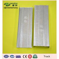 European standard 7522mm galvanized steel horizontal u track with different size