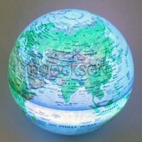 LED magic revolving globe
