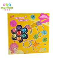 Monlala Fasion DIY Jewelry Design Beads Acrylic For Kids