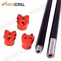 MAXDRILL blast furnace taphole drill bit