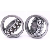 Cylindrical Double Row 90X190X64mm 2318 Self Aligning Bearing thumbnail image