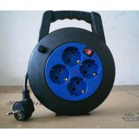 Cable reel/power strip