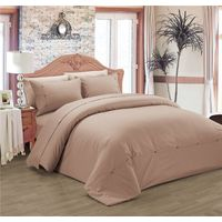 Selling Solid Color Polyester Cotton Duvet Cover Set thumbnail image