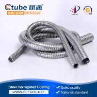 Stainless Steel Flexible Electrical Conduit For Electric Wire Protection