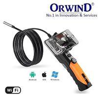 ORWIND® BOROCAM Video Borescope / Wireless Inspection Camera & Display.