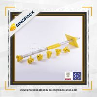 SINOROCK steel tunnel thread self drilling anchor bolt