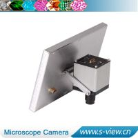 HDMI industrial microscope camera with LCD screen